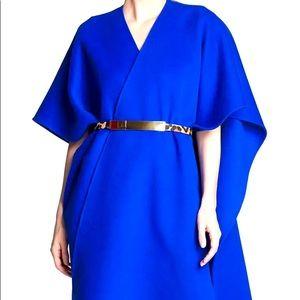 St.John wool cashmere blue shall